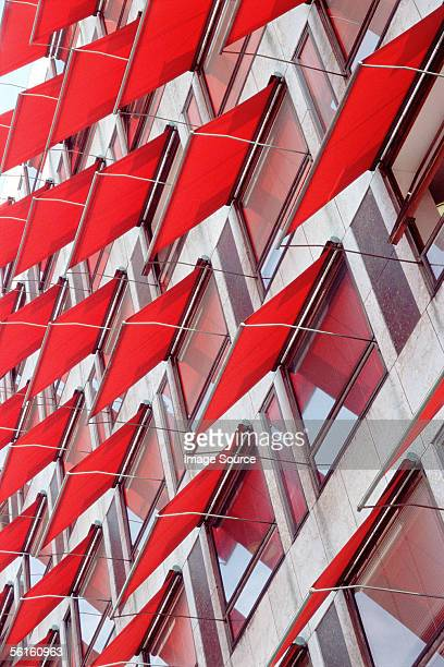 Awnings on apartment windows