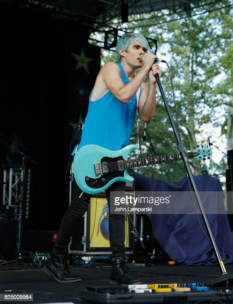 Awsten Knight of the Waterparks performs in concert New York New York at Central Park SummerStage on July 31 2017 in New York City