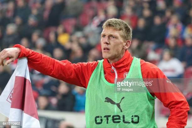 Axel Bellinghausen of Fortuna Duesseldorf looks on during the Second Bundesliga match between VfB Stuttgart and Fortuna Duesseldorf at MercedesBenz...