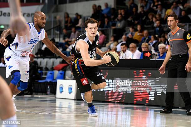 Axel Julien of Dijon during the Pro A match between Antibes sharks and JDA Dijon on November 4 2016 in Antibes France