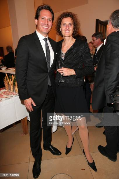 Axel Ludwig Director of Hotel Vier Jahreszeiten Innegrit Volkhardt owner of hotel Bayerischer Hof during the 2oth 'Busche Gala' at The Charles Hotel...