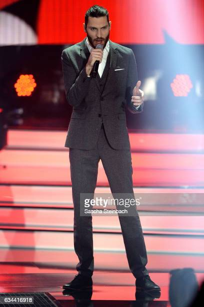 Axel Maximilian Feige attends the 'Eurovision Song Contest 2017 Unser Song' show on February 9 2017 in Cologne Germany