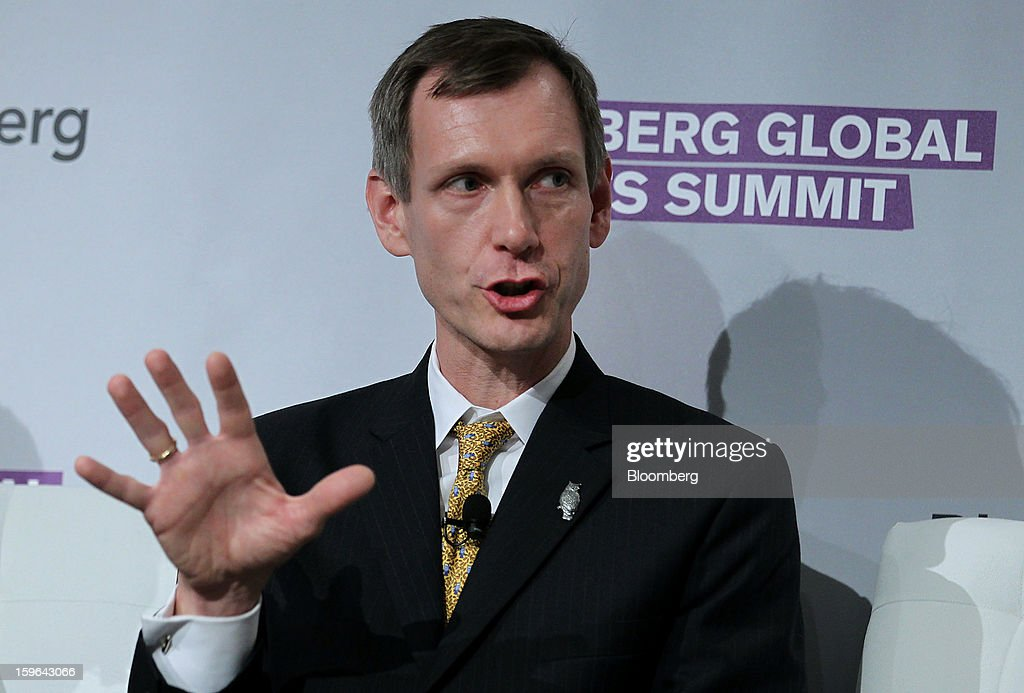 Axel Merk, president and chief investment officer at Merk Investments LLC, speaks at the Bloomberg Global Markets Summit in New York, U.S., on Thursday, Jan. 17, 2013. The Bloomberg Global Markets Summit, co-hosted by Foreign Affairs Magazine and Bloomberg LINK, convenes market makers and market movers as investors map their strategy for the year ahead. Photographer: Jin Lee/Bloomberg via Getty Images