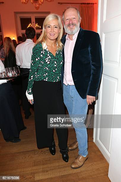 Axel Milberg and his wife Judith Milberg during the birthday party for the 10th anniversary of ICON at Nymphenburg Palais No 6 on November 7 2016 in...