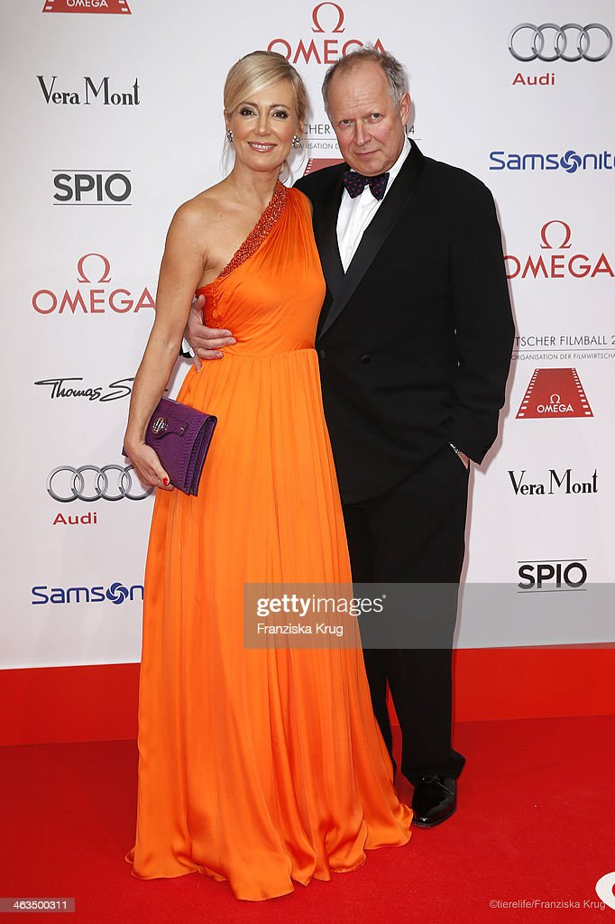 <a gi-track='captionPersonalityLinkClicked' href=/galleries/search?phrase=Axel+Milberg&family=editorial&specificpeople=2094657 ng-click='$event.stopPropagation()'>Axel Milberg</a> and Judith Milberg attend the German Film Ball 2014 (Deutscher Filmball) on January 18, 2014 in Munich, Germany.