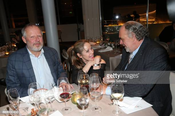 Axel Milberg AnnKathrin Kramer and Christian Kohlund during the ARD advent dinner hosted by the program director of the tv station Erstes Deutsches...
