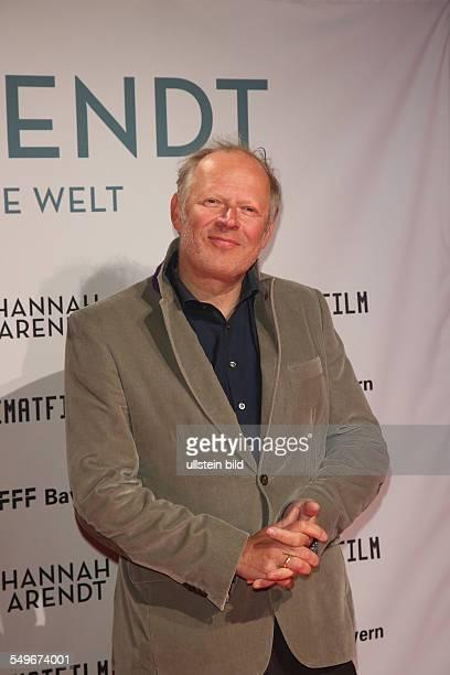 Axel Milberg bei der Filmpremiere von Hannah Arendt in der Lichtburg in Essen