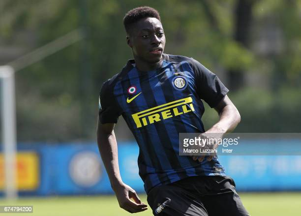 Axel Mohamed Bakayoko of FC Internazionale Milano looks on during the Primavera Tim juvenile match between FC Internazionale and Bologna FC at Centro...