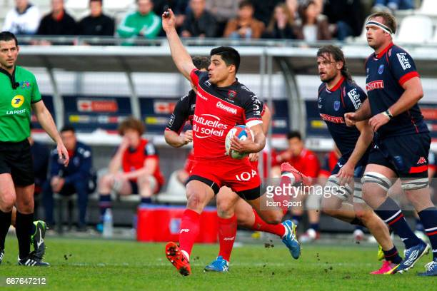 Axel Muller Aranda of Toulon during the French Top 14 match between Grenoble and Rc Toulon on March 19 2017 in Grenoble France