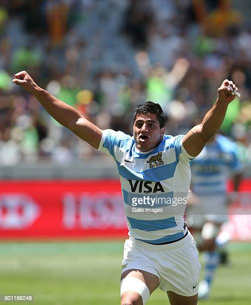 Axel Muller of Argentina during day 2 of the HSBC Cape Town Sevens in the game between Argentina and New Zealand at Cape Town Stadium on December 13...