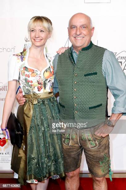 Axel Munz CEO Angermaier Trachten and guest attend the Kempinski Fashion Dinner on May 23 2017 in Munich Germany
