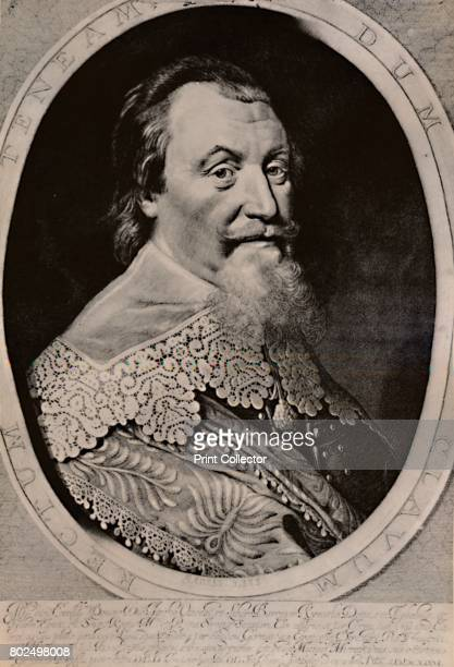 Axel Oxenstierna Count of Sodermore Swedish statesman 17th century From A Collection of Engraved Portraits Exhibited by the Late James Anderson Rose...