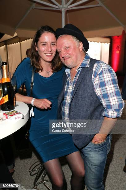 Axel Prahl and his wife Silja Prahl during the 'Audi Director's cut' Party during the Munich film festival at Praterinsel on June 24 2017 in Munich...