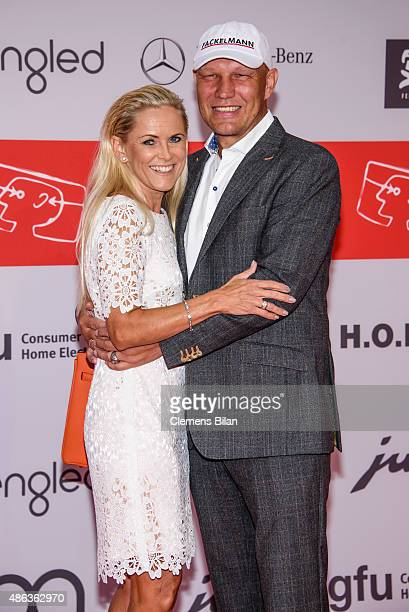 Axel Schulz and Patricia Schulz attend the IFA 2015 Opening Gala on September 3 2015 in Berlin Germany