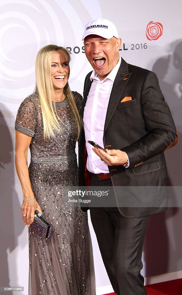 <a gi-track='captionPersonalityLinkClicked' href=/galleries/search?phrase=Axel+Schulz&family=editorial&specificpeople=828206 ng-click='$event.stopPropagation()'>Axel Schulz</a> and Patrizia Schulz attend the charity event 'Rosenball' at Hotel Intercontinental on April 30, 2016 in Berlin, Germany.
