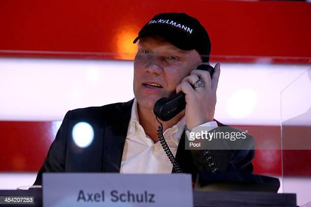 Axel Schulz attends the 'Ein Herz Fuer Kinder Gala 2013' at Flughafen Tempelhof on December 7 2013 in Berlin Germany