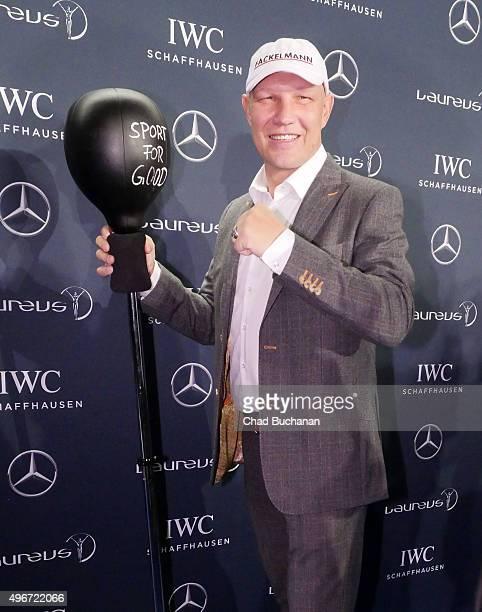 Axel Schulz attends the Laureus Sport for Good Night 2015 at Grand Hyatt Hotel on November 11 2015 in Berlin Germany