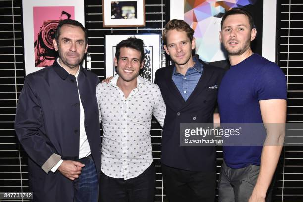 Axel Shalson Enrique Quintero Thomas Pierce and Artyom Kolodeznoy attend PMA with KANTRR Labs and Pierce Capital Entertainment host the Wrap Party of...