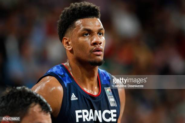 Axel Toupane of France looks on during the international friendly game between France v Lithuania at Palais des Sports on August 10 2017 in Orleans...