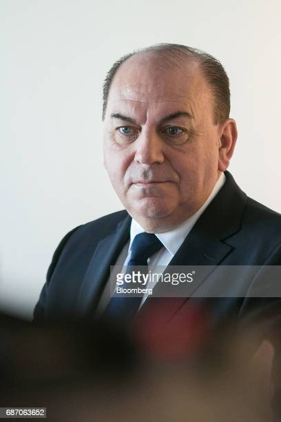 Axel Weber chairman of UBS Group AG looks on ahead of a Bloomberg Television interview in Berlin Germany on Tuesday May 23 2017 Growth in Europe...