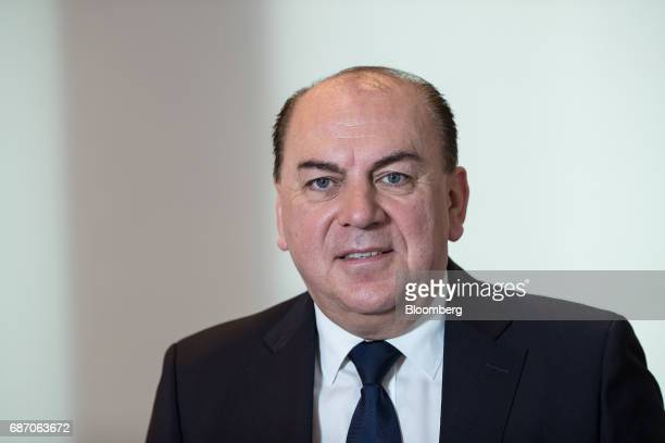 Axel Weber chairman of UBS Group AG poses for a photograph following a Bloomberg Television interview in Berlin Germany on Tuesday May 23 2017 Growth...