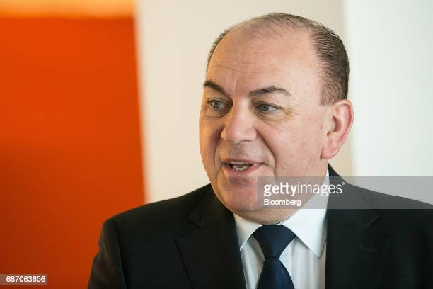 Axel Weber chairman of UBS Group AG speaks ahead of a Bloomberg Television interview in Berlin Germany on Tuesday May 23 2017 Growth in Europe...
