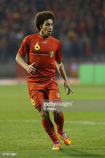 Axel Witsel of Belgium during the friendly match between Belgium and Ivory Coast at King Boudewyn Stadium on March 5 2013 in Brussels Belgium