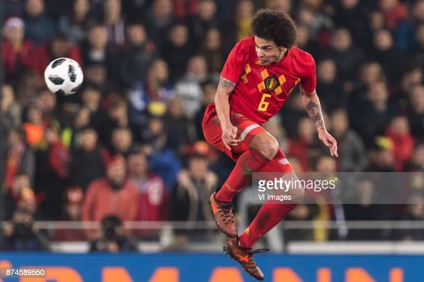 Axel Witsel of Belgium during the friendly match between Belgium and Japan on November 14 2017 at the Jan Breydel stadium in Bruges Belgium