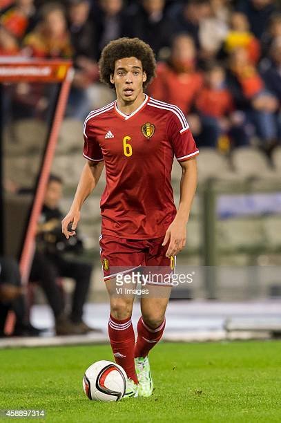Axel Witsel of Belgium during the International friendly match between Belgium and Iceland on November 12 2014 at the Koning Boudewijn stadium in...