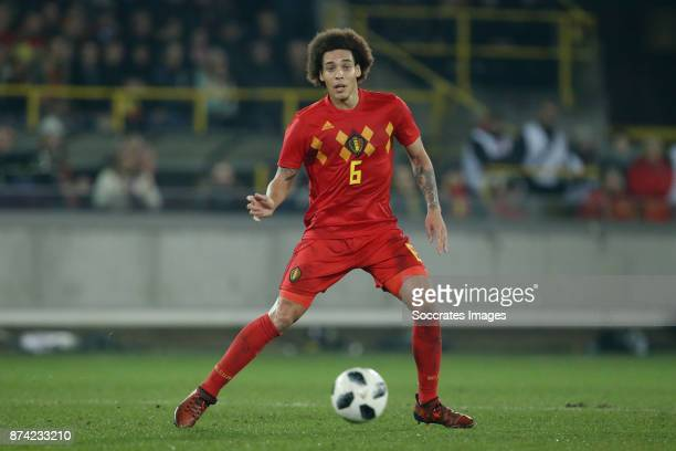 Axel Witsel of Belgium during the International Friendly match between Belgium v Japan at the Jan Breydel Stadium on November 14 2017 in Brugge...