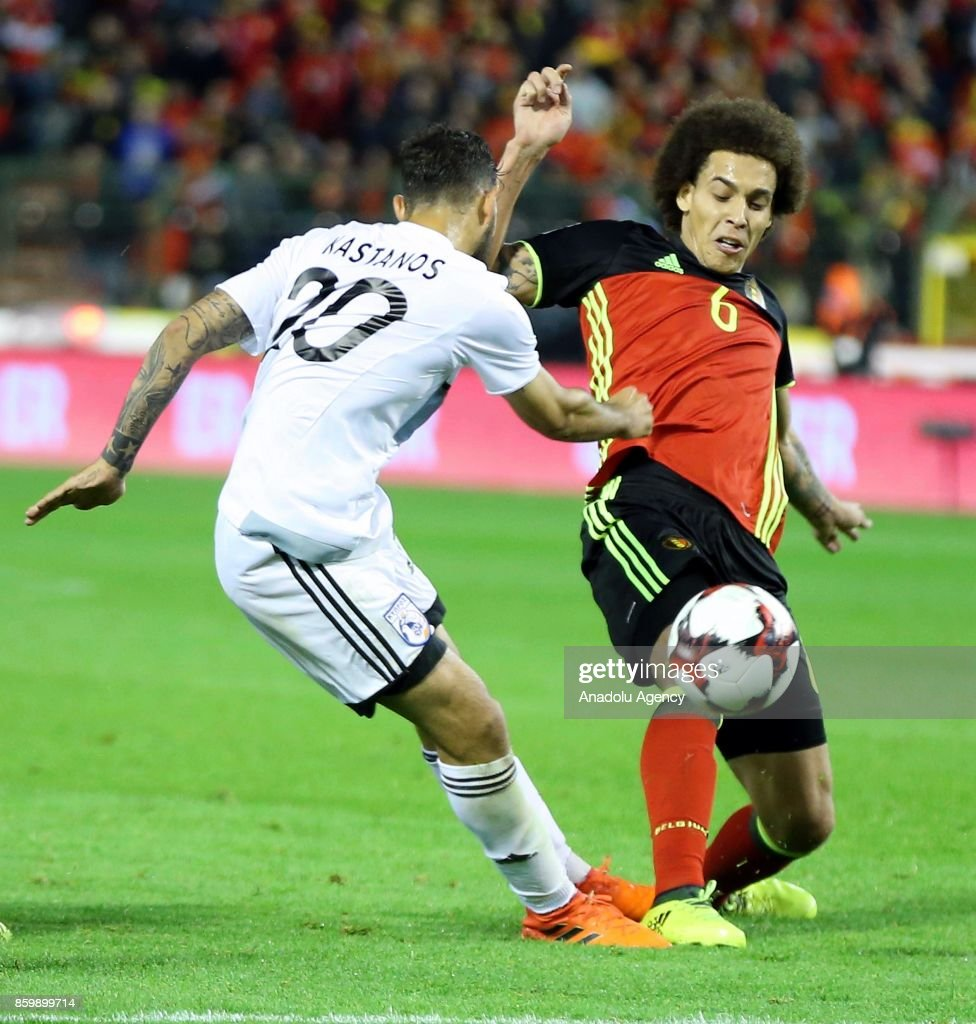 Belgium v Greek Cypriot national team FIFA 2018 World Cup
