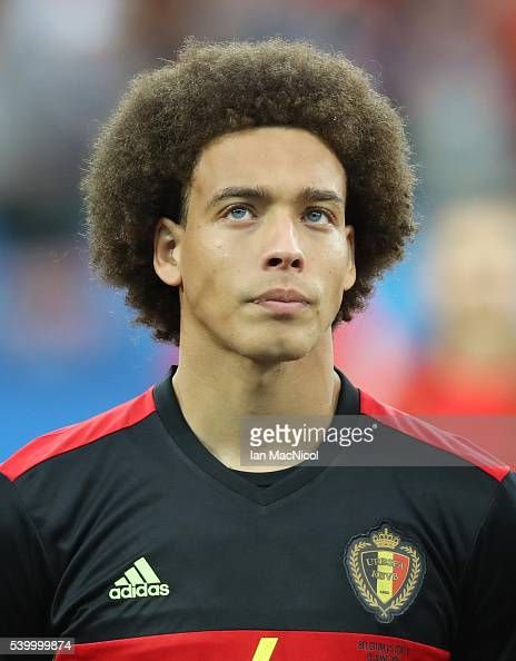 Axel Witsel of Belgium looks on during the UEFA EURO 2016 Group E match between Belgium and Italy at Stade des Lumieres on June 13 2016 in Lyon France