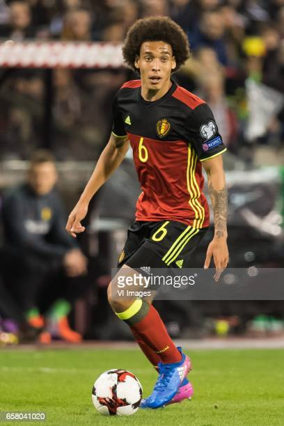 Axel Witsel of Belgiumduring the FIFA World Cup 2018 qualifying match between Belgium and Bosnie Herzegowina on October 07 2016 at the Koning...