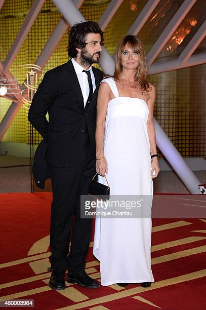 Axelle Laffont and guest attend the Jury Photocall during the 14th Marrakech International Film Festival on December 5 2014 in Marrakech Morocco