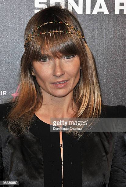 Axelle Laffont attends Sonia Rykiel and HM underwear collection launch at Grand Palais on December 1 2009 in Paris France