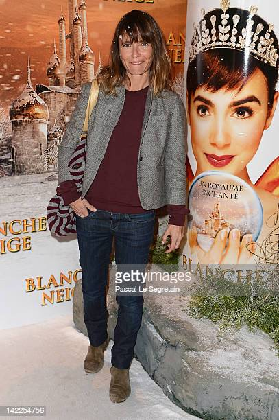 Axelle Laffont attends the 'Blanche Neige' Paris Premiere at Gaumont Capucines on April 1 2012 in Paris France