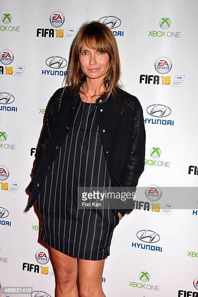 Axelle Laffont attends the 'FIFA 16 Live Event' at the Faust Club on September 21 2015 in Paris France