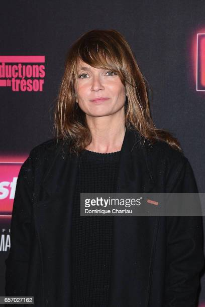 Axelle Laffont attends the Gangsterdam Paris Premiere at Le Grand Rex on March 23 2017 i