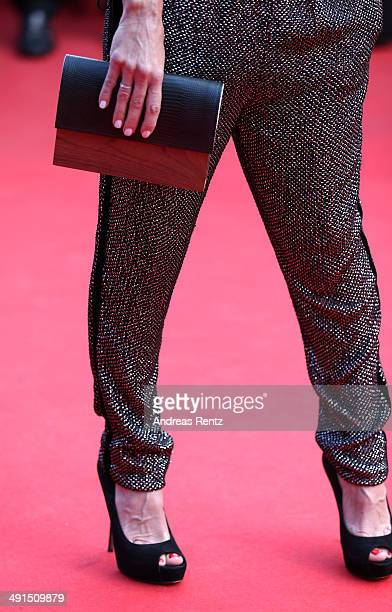 Axelle Laffont attends the 'How To Train Your Dragon 2' premiere during the 67th Annual Cannes Film Festival on May 16 2014 in Cannes France