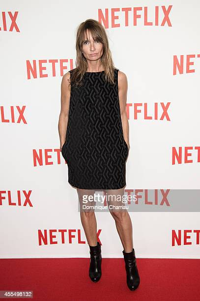 Axelle Laffont attends the 'Netflix' Launch Party At Le Faust In Paris on September 15 2014 in Paris France