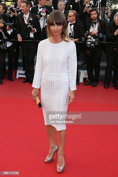 Axelle Laffont attends the Premiere of 'Blood Ties' during the 66th Annual Cannes Film Festival at the Palais des Festivals on May 20 2013 in Cannes...