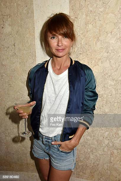 Axelle Laffont attends Zadig Voltaire New Perfume Launch Launch Party at 51 Avenue Iena on June 9 2016 in Paris France