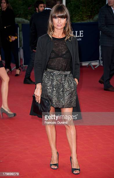 Axelle Lafont arrives at the premiere of the film 'Killing Season' during the 39th Deauville American Film Festival on September 6 2013 in Deauville...