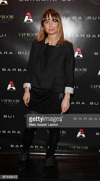 Axelle Lafont attend the Barbara Bui Party at VIP Room Theatre on March 4 2010 in Paris France