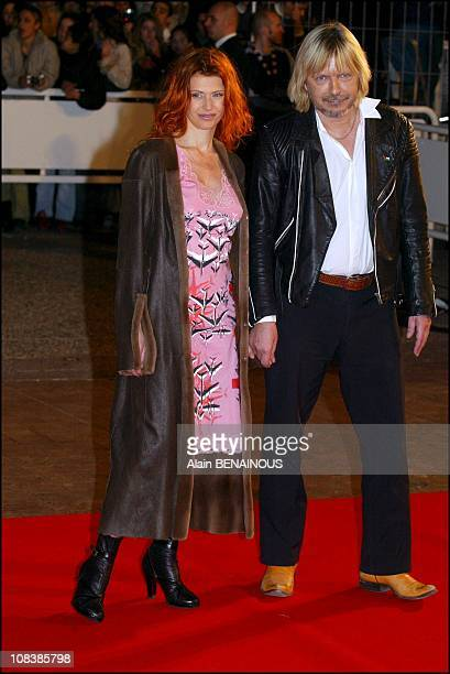 Axelle Red and Renaud in Cannes France on January 18 2003
