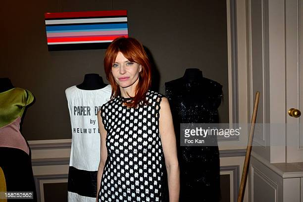 Axelle Red attends the Axelle Red Showcase At the Belgian Flemish Embassy on December 11 2012 in Paris France