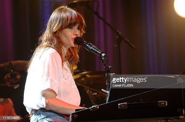 Axelle Red performs at the 'palais de Beaulieu' in Lausanne Switzerland on June 05th 2007