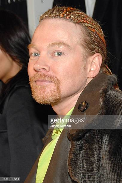 Axl Rose during Grand Opening of Uniqlo Flagship Store November 9 2006 at Uniqlo Flagship Store Soho in New York City New York United States