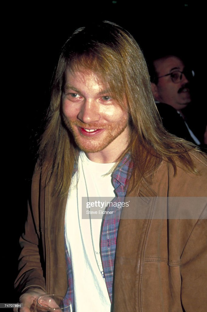 Axl Rose of Guns N' Roses at the Waldorf-Astoria Hotel in New York City, New York