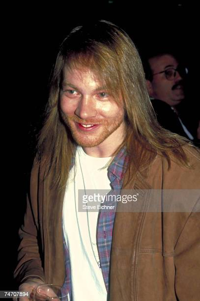 Axl Rose of Guns N' Roses at the WaldorfAstoria Hotel in New York City New York
